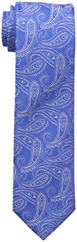 Tommy Hilfiger Paisley Tie (Tommy Hilfiger Men's Grenadine Paisley Tie, Royal Blue, One Size)