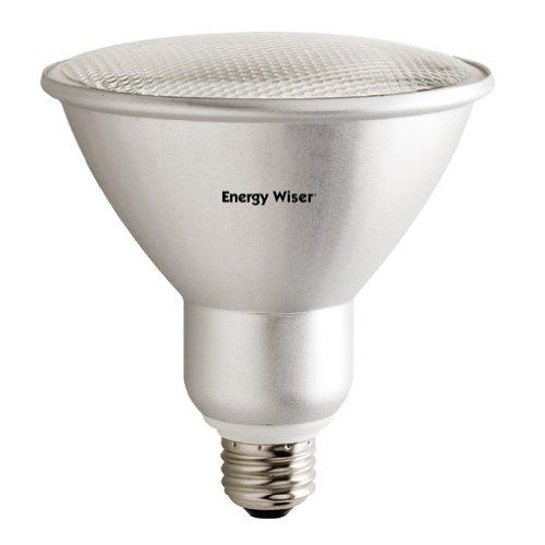 Bulbrite 860437 23 W Dimmable PAR38 Shape Cfl Bulb (E26) Base with Medium Screw, 2 Pack, Frost (Cfl Dimmable Par38)