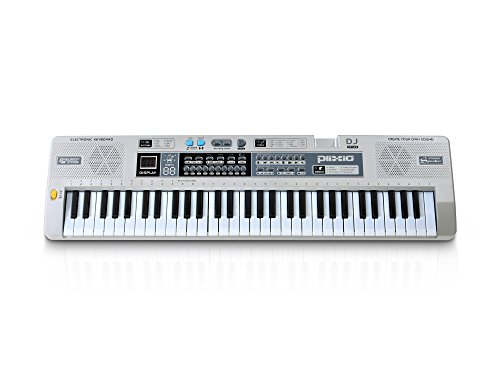 plixio-61-key-mid-size-electronic-music-keyboard-electric-piano-with-lesson-mode-adapter