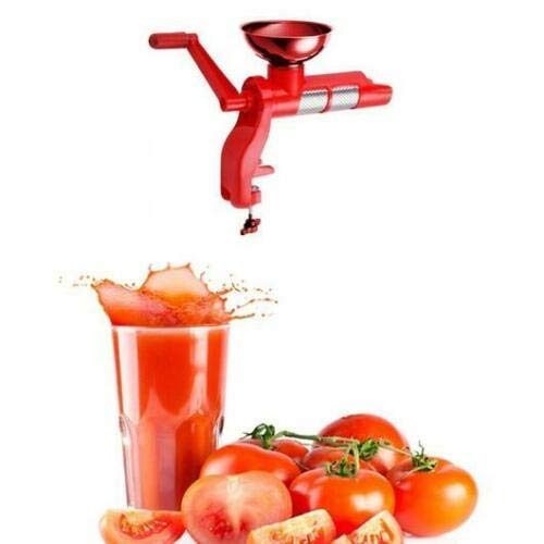 Tomato Strainer /& Juicer Also for Soft Fruits Strawberries Kiwi Peaches