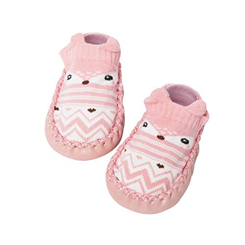 - DEBAIJIA Baby Shoes Cotton Cloth Material Toddler Shoes Anti-Slip Animals Pattern Fashion Casual Prewalker Shoes Sheep Suede Leather Slip-on Sporty Trainers Unisex