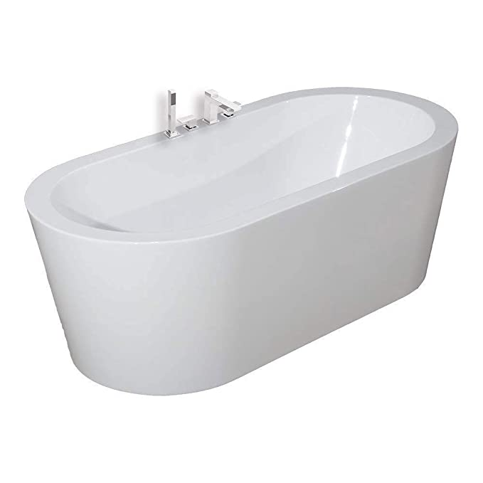 6. Woodbridge 59-inch Acrylic Freestanding Bathtub