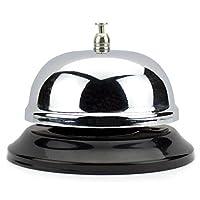 Chrome Service Bell con base negra de Lansky Office Supplies (10cm) de Lansky Office Supplies