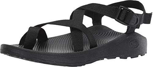 (Chaco Men's Zcloud 2 Sport Sandal, Solid Black, 12 W US )