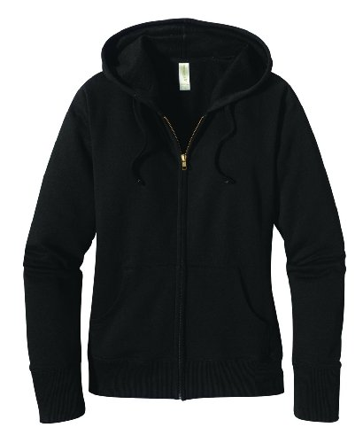 ECOnscious Women's Zip Hoody, Black, X-Large