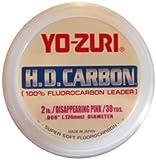 Yo-Zuri H.D. Fluorocarbon 30-Yard Leader Line, Pink, 6-Pound Review
