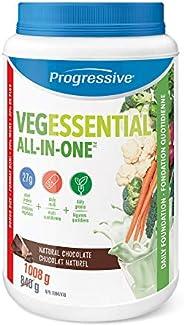 Progressive Health Vegessential, All-In-One Vegan Protein, Greens, Vitamins & minerals Powder - Natural Ch