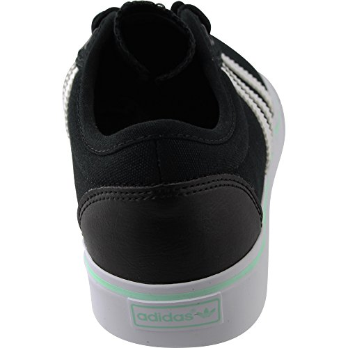 Adidas Adiease W Fashion Sneaker Zwart / Wit / Ijsgroene Stof