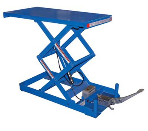 IHS-SCTAB-750D-Steel-Foot-Pump-Scissor-Lift-Table-with-Painted-Blue-Finish-750-lbs-Capacity-40-Length-x-20-Width-Platform-7-35-Height