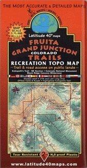 Fruita/ Grand Junction Mountain Bike Trail Map (Cycling Maps)