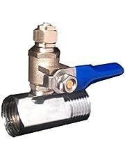 Ósmosis inversa agua fría alimentación conexión a válvula ajuste 0,64 cm tubo para lldpe