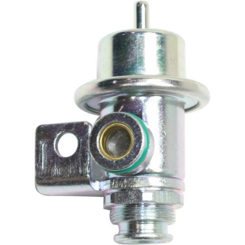 Fuel Pressure Regulator compatible with Cadillac Deville 90-95 / Grand Am 91-99 Straight Nipple Orientation ()