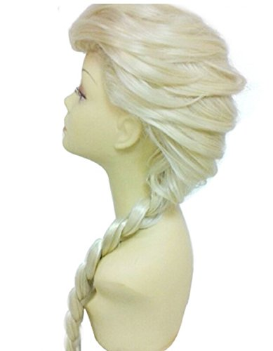 Women's Braids Prestyled Party Costume Cosplay Wigs 70cm Long Hairpiece (Braids Costume Wig)