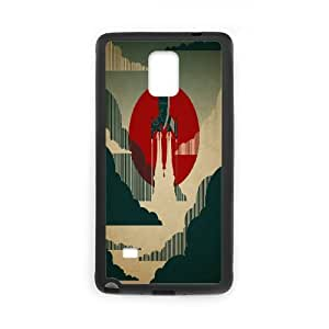 GTROCG Rocket Phone Case For Samsung Galaxy note 4 [Pattern-5]