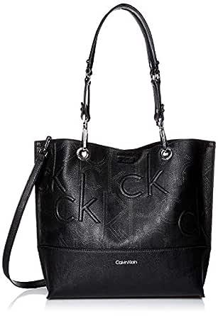Calvin Klein Women's Sonoma Reversible Tote Sonoma Reversible Tote, Black, One Size