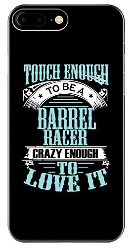 Barrel Racer Crazy Horse T Shirt - Phone Case for iPhone 6+, 6S+, 7+, 8+