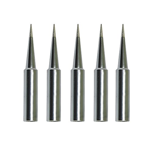 8801 Replacement - 5 pcs T18 Replacement Soldering Tip For HAKKO FX-888D FX-888 FX-8801 Tip Series (T18-BL)