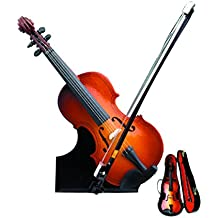 "7"" Violin w/Case Miniature Instrument"