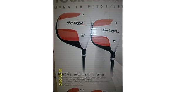 Amazon.com: Mens Tour Lógica palos de golf y Stand Bag ...