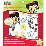 Nickelodeon Ni Hao, Kai-lan Learn-To-Color Stickers Kit