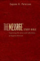 The Message Study Bible Leather-look: Capturing the Notes and Reflections of Eugene H. Peterson