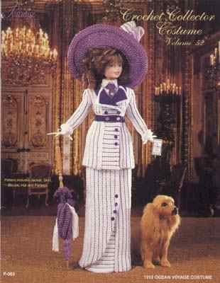 Paradise+Costumes Crochet - 1912 Ocean Voyage Costume - Crochet Collector Costume Volume 52