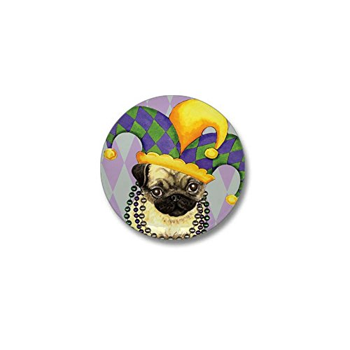 Pug Mini Button - CafePress Party Pug Mini Button 1