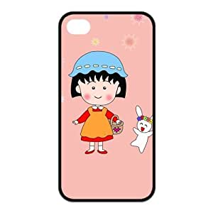 FashionFollower Design Hot Anime Series Chi-bi Maruko Cute Phone Case Suitable For iphone4/4s IP4WN31521 by ruishername