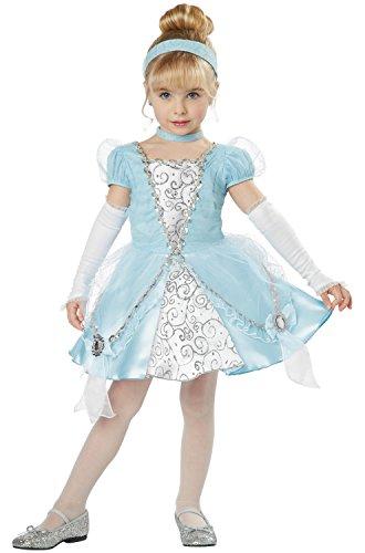 California Costumes Cinderella Deluxe Toddler Costume, (Deluxe Toddler Cinderella Costumes)