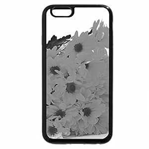 iPhone 6S Plus Case, iPhone 6 Plus Case (Black & White) - Refreshing Yellow Flowers