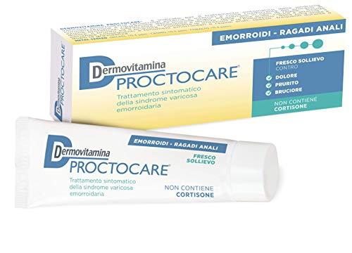 Dermovitamina Proctocare Hemorrhoid Cream 30ml (Best Thing For External Hemorrhoids)