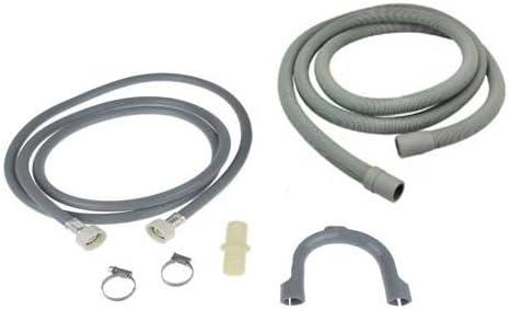 COMO Direct Ltd? Universal llenar Agua Tubo y tubo de desagüe para lavadora & lavavajilla extensión cable 2,5m