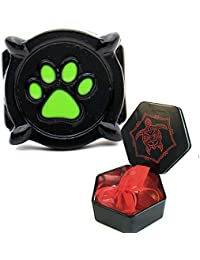 cat noir ladybug ring for costume kids and adult sizes with present hexagon box (6)