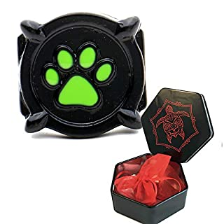 3dcrafter cat noir ladybug ring for costume kids and adult sizes with present hexagon box (7)