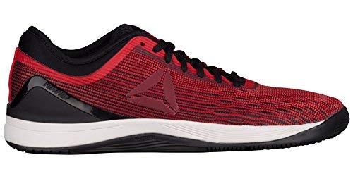 Reebok Men's Crossfit Nano 8.0 Flexweave Cross Trainer Shoe (8 M US, Primal Red/Urban Maroon/Chalk/Black)