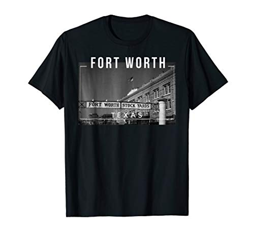Fort Worth Texas TX Skyline - Tee -