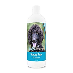 Healthy Breeds Young Puppy Soap-Free, Detergent-free, Tear-less, Baby Powder Scent Shampoo 8oz 9