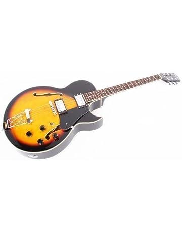 Cher rystone 4260180883091 Guitarra eléctrica de jazz GSH degradado