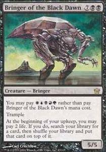 Fifth Dawn Game Card - Magic: the Gathering - Bringer of the Black Dawn - Fifth Dawn