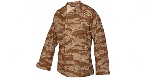 (Tru-Spec BDU Coat Cotton Desert Tiger Stripe L-Long 1596025 )