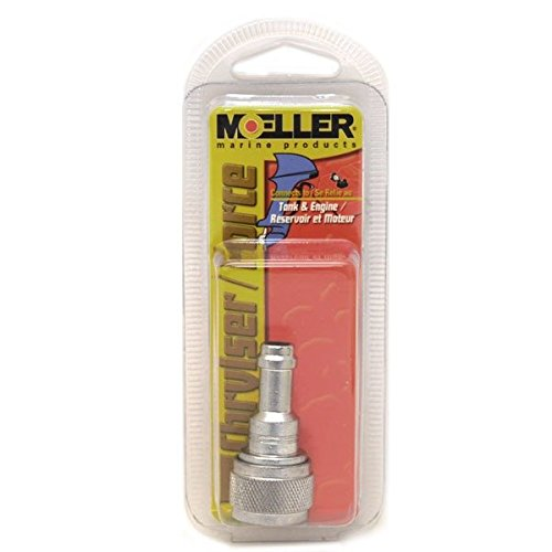 Moeller Marine Fuel Line Engine and Tank Barb Conncector (Force, 3/8'')