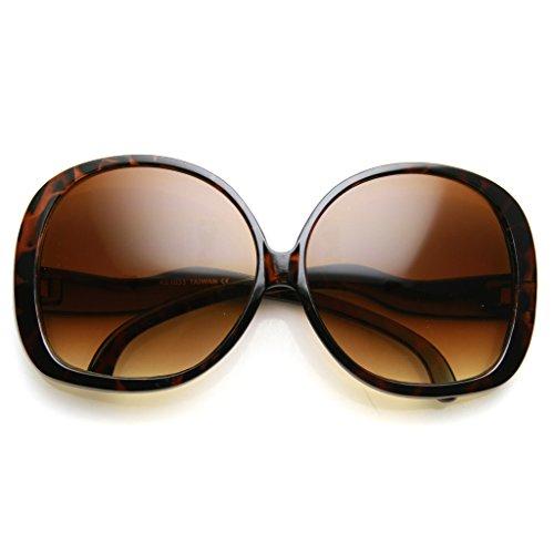 AStyles - Big Huge Oversized Vintage Style Sunglasses Retro Women Celebrity Fashion ()