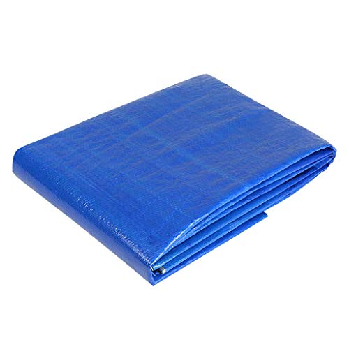 Liyangbai Tarpaulin Waterproof Heavy Duty,Thick Silver Tarpaulin Sunscreen Insulation Outdoor Sunshade Rain Plastic Canopy Canvas (Size : 450m)