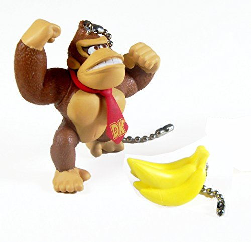 Mario Bros Ceiling Fan Pull Set (Donky Kong & Bananas)
