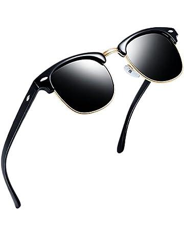 02d4d70f29b Joopin Semi Rimless Polarized Sunglasses Women Men Retro Brand Sun Glasses