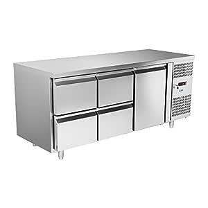Royal Catering - RCKT-180/70 - Mesa refrigerada - 180 x 70 cm ...