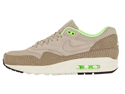 Nike Para Hombre Air Max 1 Prm Running Shoe String / String-desert Camo-ghost Green