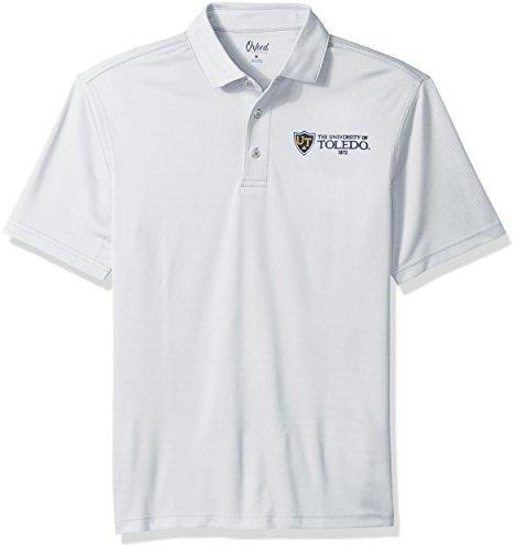 Toledo Oxfords (Oxford NCAA Toledo Rockets Men's Houston Performance Polo Shirt, XX-Large, Highrise)