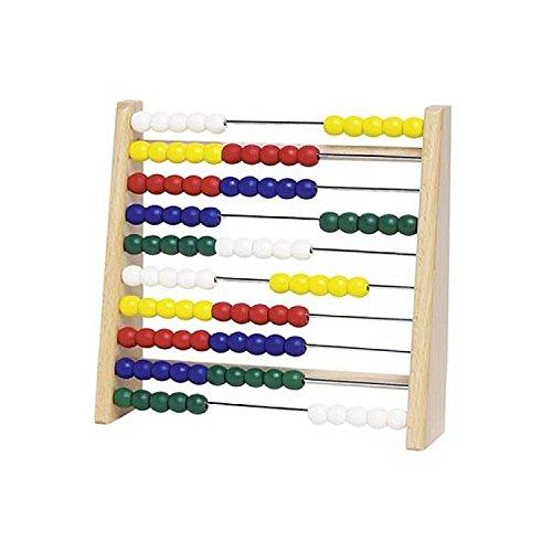 Goki 4013594346108 Lernspielzeug Abacus TT610 Schulbedarf Zählrahmen