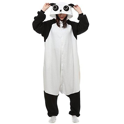 Animal Onesie Panda Adult for Teen Women Men Pajamas Cosplay Sleepwear Costume Cartoon Halloween -
